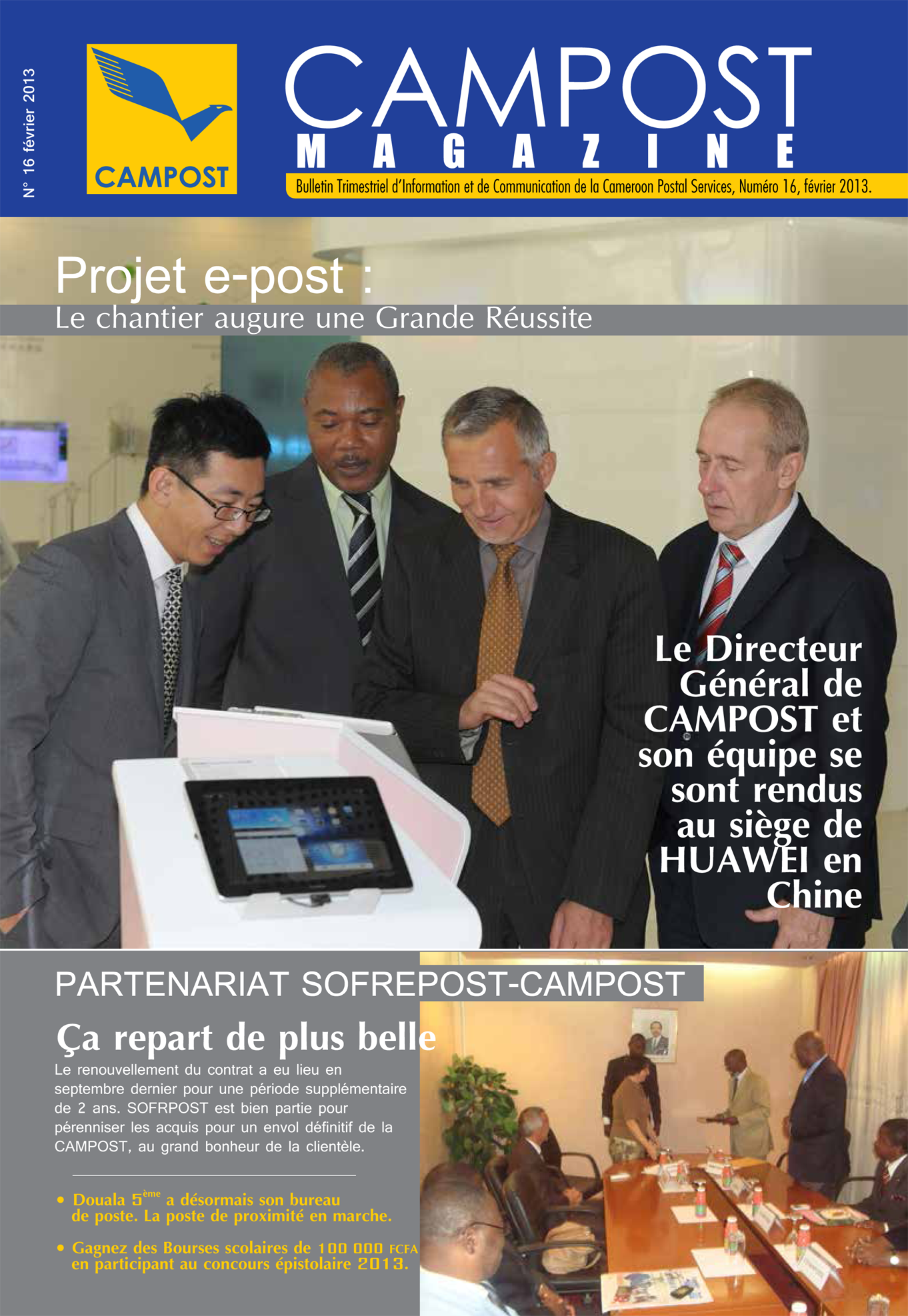 couverture campost mag fev 2013